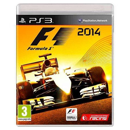 F1 2014 (Usado) - PS3