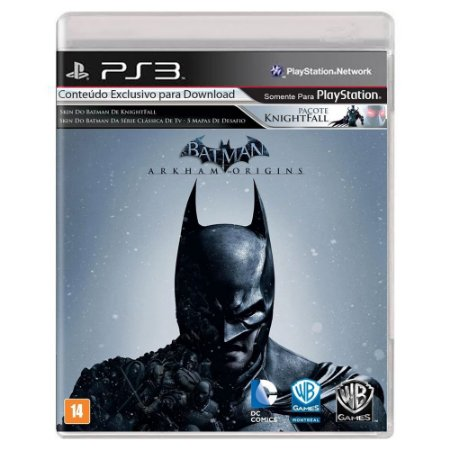 Batman: Arkham Origins (Usado) - PS3