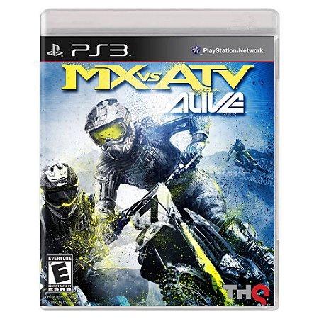 MX vs. ATV Alive (Usado) - PS3