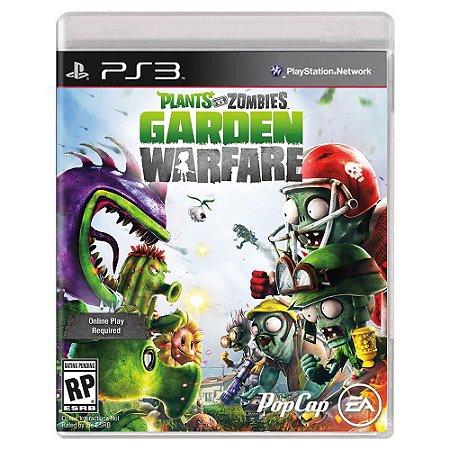 Plants vs. Zombies Garden Warfare (Usado) - PS3