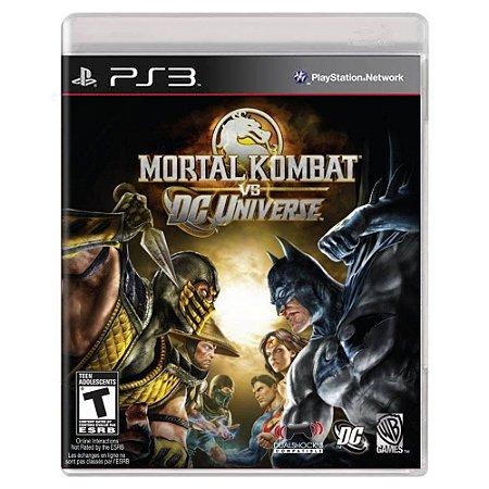 Mortal Kombat vs. DC Universe (Usado) - PS3