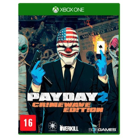 Payday 2: Crimewave Edition (Usado) - Xbox One