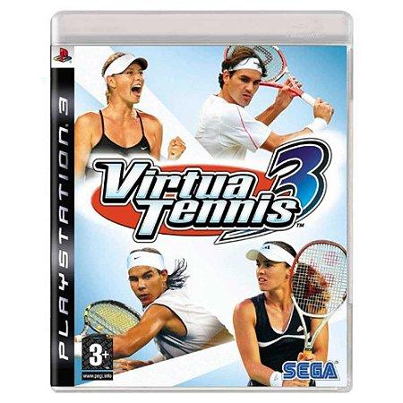 Virtua Tennis 3 (Usado) - PS3