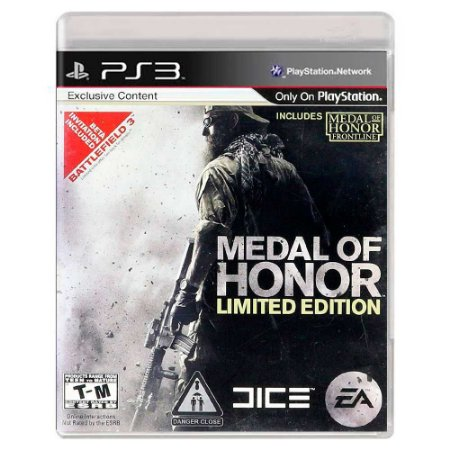 Medal of Honor (Usado) - PS3