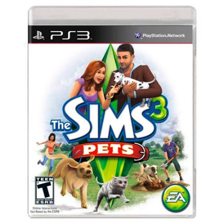 The Sims 3 Pets (Usado) - PS3