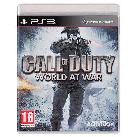 Call of Duty: World at War (Usado) - PS3
