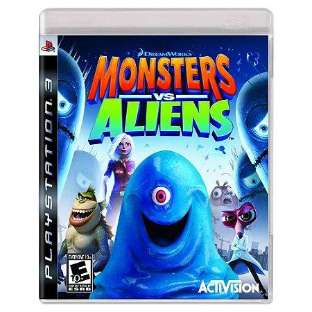 Monsters vs. Aliens (Usado) - PS3