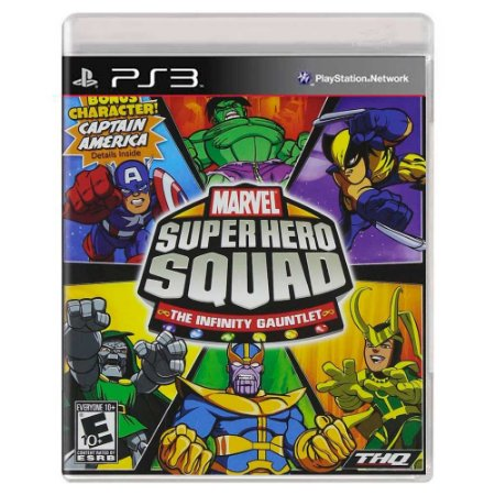 Marvel Super Hero Squad: The Infinity Gauntlet (Usado) - PS3
