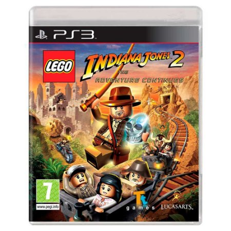 Lego Indiana Jones 2: The Adventure Continues (Usado) - PS3