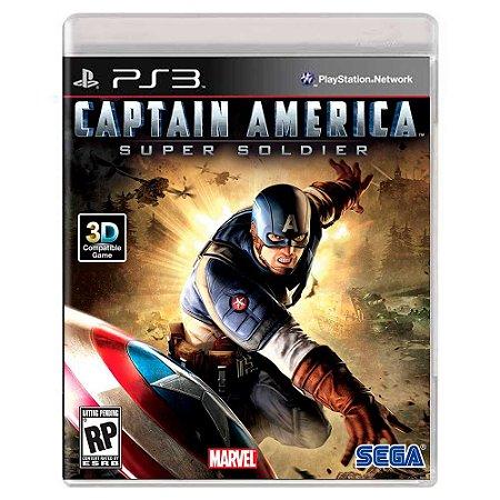 Captain America: Super Soldier (Usado) - PS3