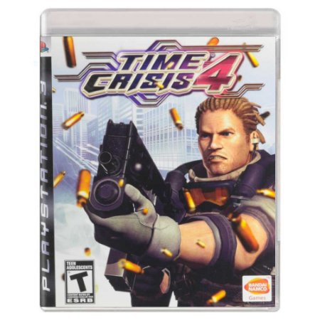 Time Crisis 4 (Usado) - PS3