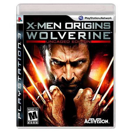 X-Men Origins: Wolverine (Usado) - PS3