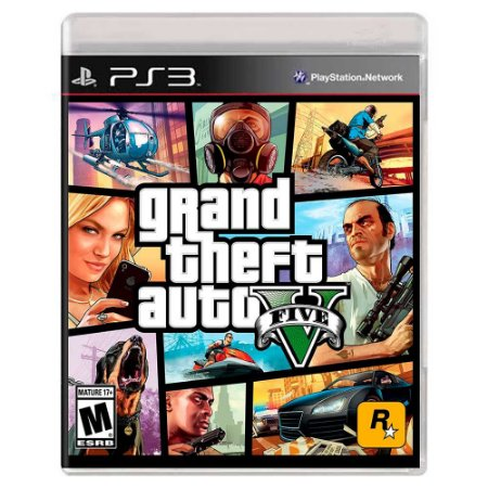 Grand Theft Auto V (Usado) - PS3