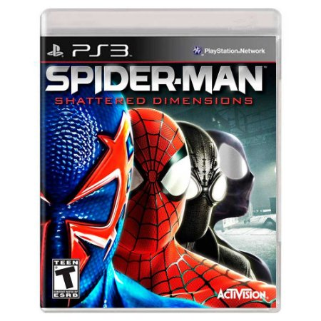 Spider-Man: Shattered Dimensions (Usado) - PS3