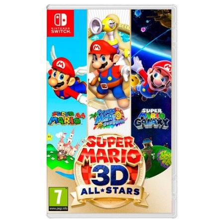 Super Mario 3D All-Stars (Pré-Venda) - Switch