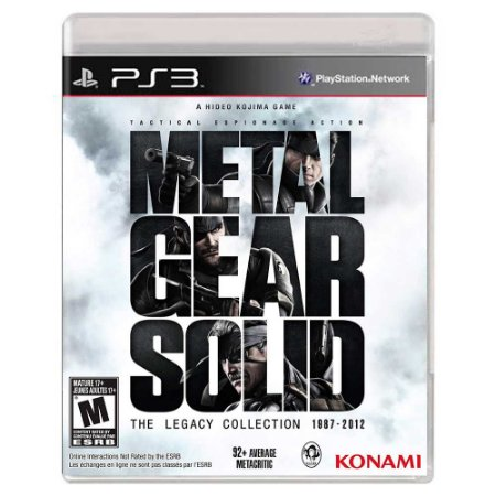 Metal Gear Solid: The Legacy Collection (Usado) - PS3