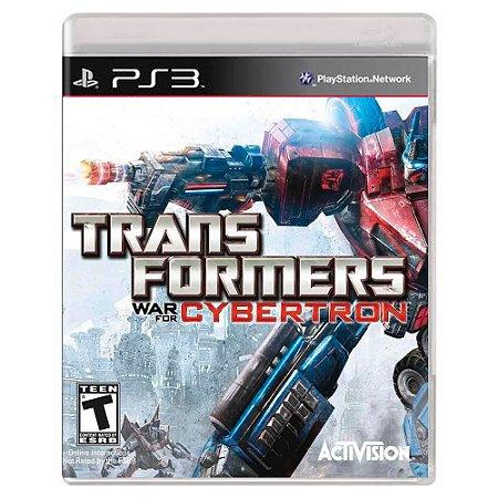 Transformers: War for Cybertron (Usado) - PS3