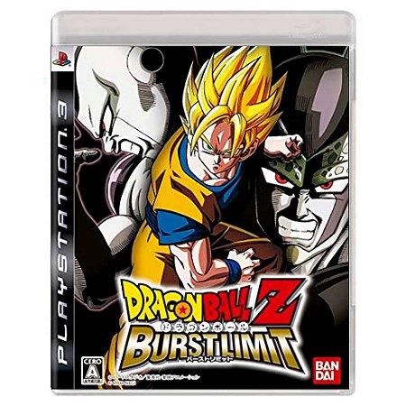 Dragon Ball Z: Burst Limit (Usado) - PS3