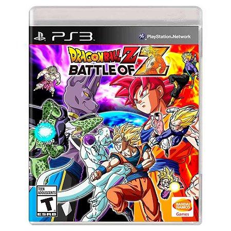 Dragon Ball Z: Battle of Z (Usado) - PS3