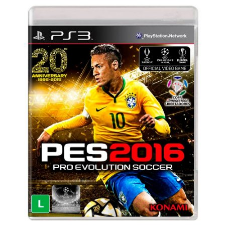Pro Evolution Soccer 2016 (Usado) - PS3
