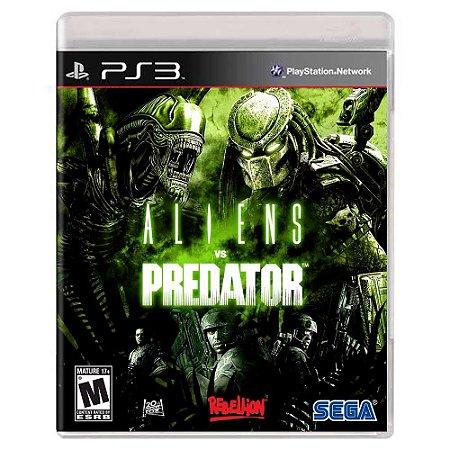 Aliens vs. Predator (Usado) - PS3