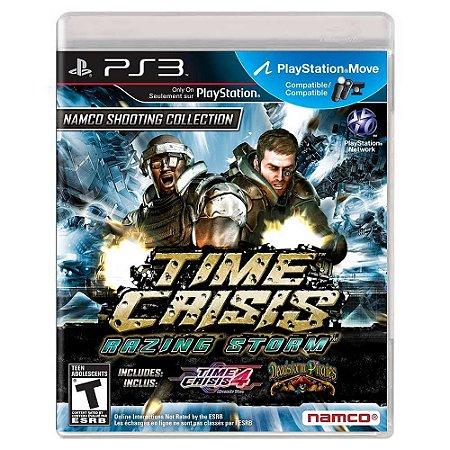 Time Crisis: Razing Storm (Usado) - PS3
