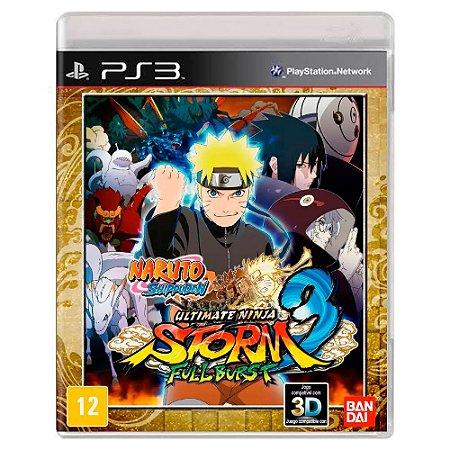 Naruto Shippuden: Ultimate Ninja Storm 3 Full Burst (Usado) - PS3