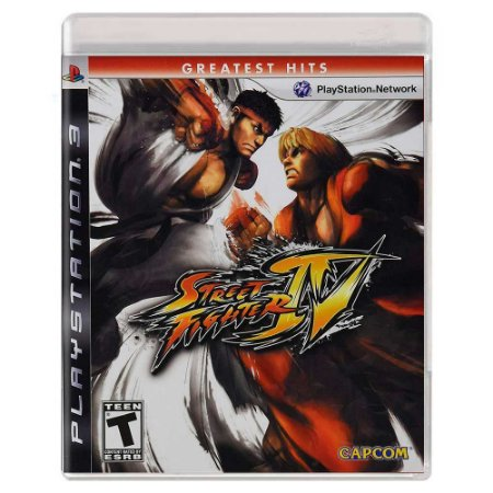Street Fighter IV (Usado) - PS3