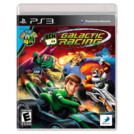 Ben 10 Galactic Racing (Usado) - PS3
