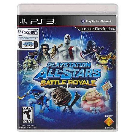 PlayStation All-Stars Battle Royale (Usado) - PS3
