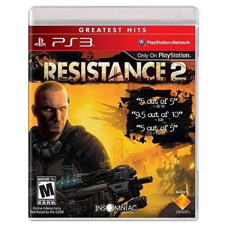 Resistance 2 (Usado) - PS3