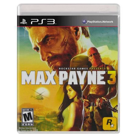 Max Payne 3 (Usado) - PS3