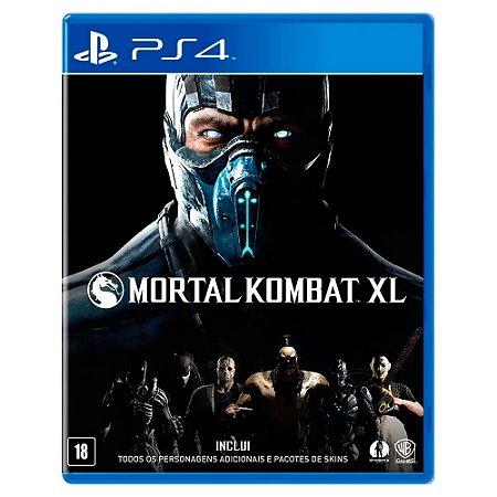Mortal Kombat XL (Usado) - PS4