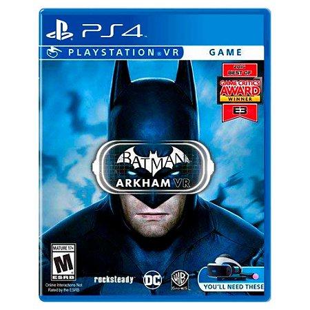 Batman: Arkham VR (Usado) - PS4