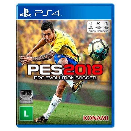 Pro Evolution Soccer 2018 (Usado) - PS4