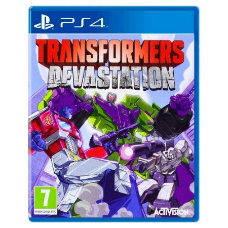 Transformers Devastation (Usado) - PS4