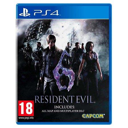 Resident Evil 6 (Usado) - PS4