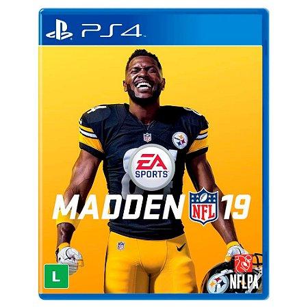 Madden NFL 19 (Usado) - PS4