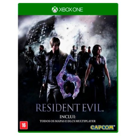 Resident Evil 6 (Usado) - Xbox One