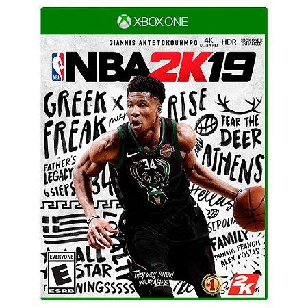 NBA 2K19 (Usado) - Xbox One