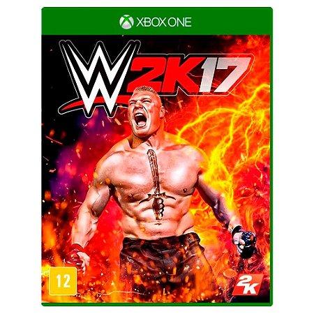 WWE 2K17 (Usado) - Xbox One