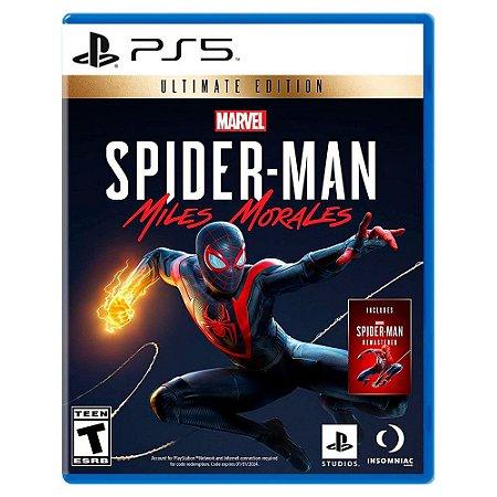Marvel's Spider-Man: Miles Morales (Edição Ultimate) - PS5