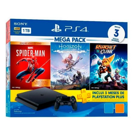 PlayStation 4 Slim 1TB Hits Bundle V15