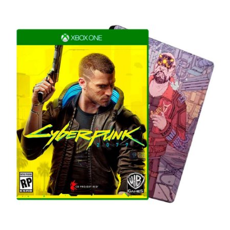 Cyberpunk 2077: Edição Steelbook Maelstrom - Xbox One