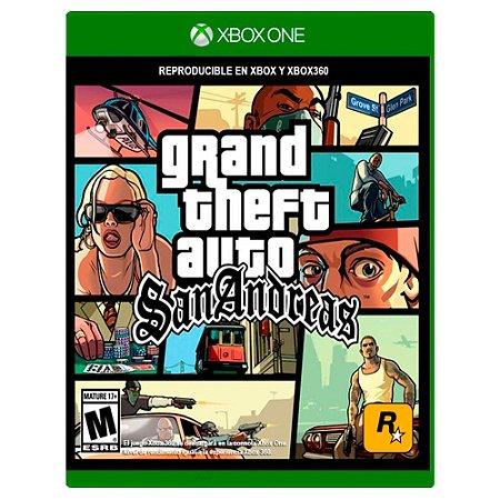 Grand Theft Auto San Andreas (Usado) - Xbox One