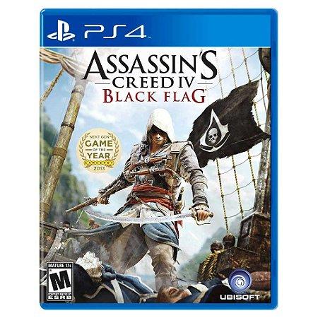 Assassin's Creed IV: Black Flag (Usado) - PS4