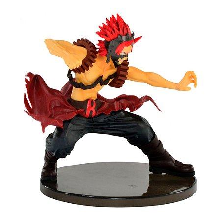 Estátua My Hero Academia: Eijiro Kirishima (Red Riot) - The Amazing Heroes - Banpresto
