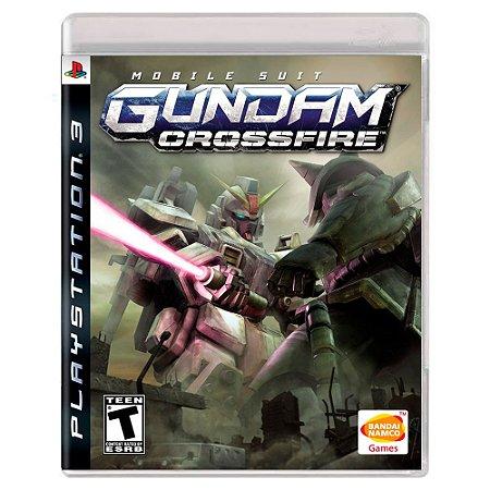 Mobile Suit: Gundam Crossfire (Usado) - PS3