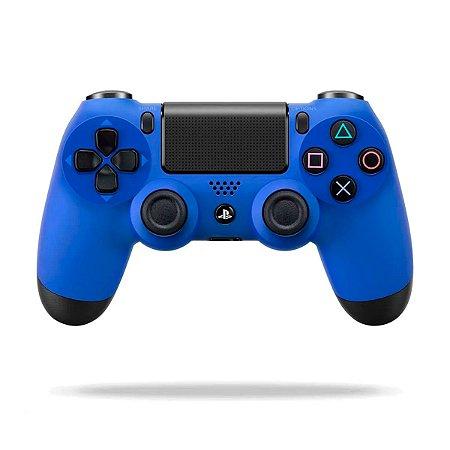Controle Dualshock 4 - Azul (Usado) - PS4