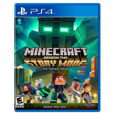 Minecraft Story Mode Season 2 (Usado) - PS4